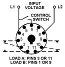 macromatic   alternating relays for 1 or 2 switch
