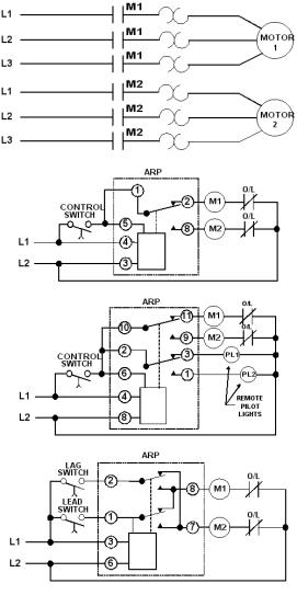 lead lag wiring diagram